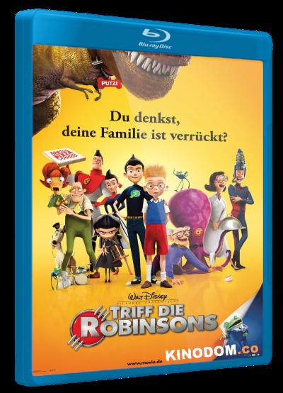 В гости к Робинсонам / Meet the Robinsons 2007 D, 2D 3D Blu-Ray (1080p)