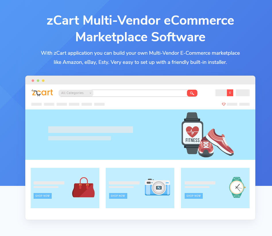 [PHP] zCart Multi-Vendor eCommerce Marketplace