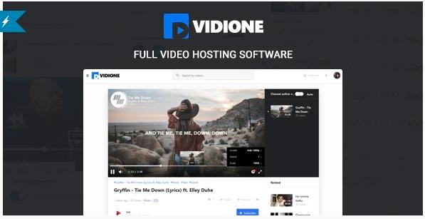 Vidione v1.5.1 - online media platform software + monetization