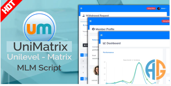UniMatrix Membership v1.9.0 - MLM Script